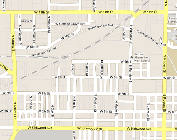 Map of the Near West Side neighborhood